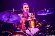 "Jean Keatz Larrañaga ""Jangitz"", baterista de Vulk (MAZ Basauri - Social Antzokia, Basauri, 2018)"