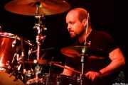 Guillermo Colás, baterista de Arenna (Santana 27, Bilbao, 2018)