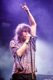 Txus López de Mendiguren, cantante de Arenna (Santana 27, Bilbao, 2018)