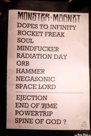 Setlist de Monster Magnet (Santana 27, Bilbao, 2018)
