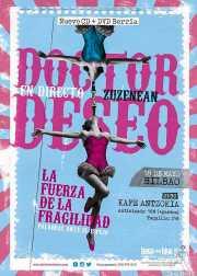 Cartel de Doctor Deseo (Kafe Antzokia, Bilbao, )