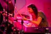 Manfred Merwald, baterista de Colour Haze (Sala Stage Live (Back&Stage), Bilbao, 2018)