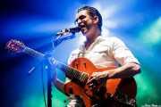 Paulo Furtado, cantante y guitarrista es The Legendary Tigerman (Andoaingo Rock Jaialdia, Andoain, 2018)
