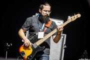 Jann Zerega, bajista de The Soul Jacket (Azkena Rock Festival, Vitoria-Gasteiz, 2018)