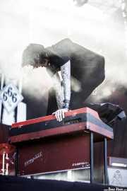 "Jake ""The Preacher"" Cavaliere, cantante y organista de The Lords of Altamont (Azkena Rock Festival, Vitoria-Gasteiz, 2018)"