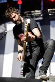 David González, bajista de Berri Txarrak (Azkena Rock Festival, Vitoria-Gasteiz, 2018)