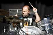 Galder Izagirre, baterista de Berri Txarrak (Azkena Rock Festival, Vitoria-Gasteiz, 2018)