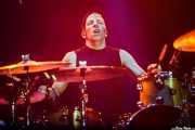 Michael McDermott, baterista de Joan Jett & The Blackhearts (Azkena Rock Festival, Vitoria-Gasteiz, 2018)