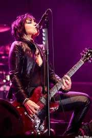 Joan Jett, cantante y guitarrista de Joan Jett & The Blackhearts (Azkena Rock Festival, Vitoria-Gasteiz, 2018)