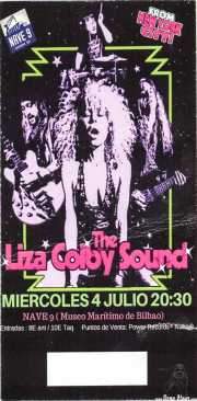 Entrada de The Liza Colby Sound (Nave 9 (Museo marítimo), Bilbao, )