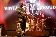 Ty Taylor -cantante- y Richard Danielson -batería- de Vintage Trouble (Los Conciertos de La Campa, Santander, 2018)