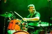 David Tobal, baterista de Negracalavera (Bilborock, Bilbao, 2018)