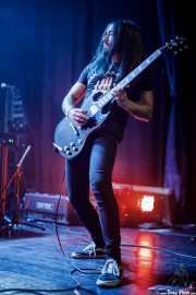 Unai Mínguez, guitarrista de Wicked Wizzard (Bilborock, Bilbao, 2018)