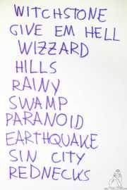 Setlist de Wicked Wizzard (Bilborock, Bilbao, 2018)