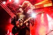 Matt Horan, cantante y guitarrista de Dead Bronco (Aste Nagusia - Plaza Nueva, Bilbao, 2018)