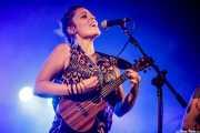 Xandra de la Vega, cantante, xilofonista y ukelele de Mud Candies (Aste Nagusia - Euskalgune, Bilbao, 2018)