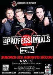 Cartel de The Professionals (Nave 9 (Museo marítimo), Bilbao, )