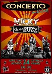 Cartel de Micky & The Buzz (Aste Nagusia - Txosna Piztiak, Bilbao, )