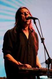 Magnus Martin, cantante, teclista y guitarrista de Hawkwind (Sala BBK, Bilbao, 2018)
