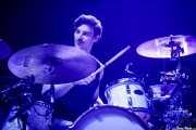 "David Rodríguez ""Deibol"", baterista de Unclose (BIME festival, Barakaldo, 2018)"