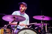 Marcel Tussie, baterista de Rolling Blackouts Coastal Fever (BIME festival, Barakaldo, 2018)