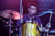 David Tobal, baterista de Negracalavera (Kafe Antzokia, Bilbao, 2018)