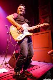 Javier Rivero, gitarrista de Negracalavera (Kafe Antzokia, Bilbao, 2018)