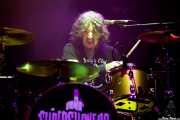 """Christopher """"Chango"""" Von Streicher, baterista de Supersuckers (Kafe Antzokia, Bilbao, 2018)"""