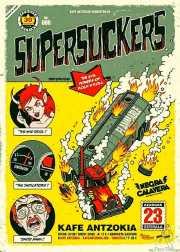 Cartel de Supersuckers (Kafe Antzokia, Bilbao, )