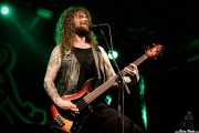 Jon Harvey, cantante y bajista de Monster Truck (Santana 27, Bilbao, 2018)