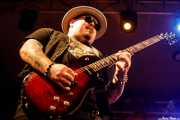 Chris Robertson, cantante y guitarrista de Black Stone Cherry (Santana 27, Bilbao, 2018)