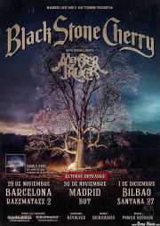 Cartel de Black Stone Cherry (Santana 27, Bilbao, )