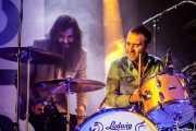 Javier Vielba -voz y guitarra- y Loza -batería- de Corizonas (Palacio Euskaduna Jauregia, Bilbao, 2018)