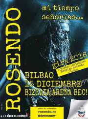 Cartel de Rosendo (Bilbao Exhibition Centre (BEC), Barakaldo, )