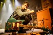 Álvaro Luna, cantante y guitarrista de Yellow Big Machine (Kafe Antzokia, Bilbao, 2018)