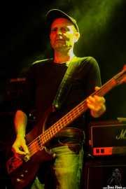 Jon Salas, bajista de The Ribbons (Rock&Rolla, Berango, 2018)