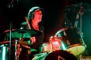 "George ""Huracán"" Hernández, baterista de The Ribbons (Rock&Rolla, Berango, 2018)"