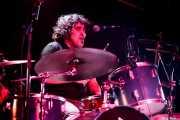 David Marín, baterista de Sumisión City Blues (Rock&Rolla, Berango, 2018)