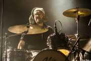 Sor Varo, baterista  de Las Munjitas del Fuzz (Santana 27, Bilbao, 2018)