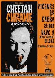 Cartel de Cheetah Chrome & Señor No (Kafe Antzokia, Bilbao, )