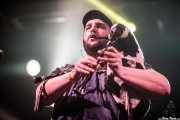 """Luis Cao """"Aspy"""" , gaitero y,flautista de Bastards on Parade (Santana 27, Bilbao, 2019)"""