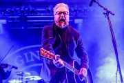 Dave King, cantante y guitarrista de Flogging Molly (Santana 27, Bilbao, 2019)