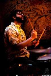Ibon Guillén, baterista de Dead Sequoia (El Tubo, Barakaldo, 2019)