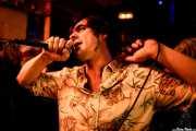 Ibai Urdiroz, cantante de Dead Sequoia (El Tubo, Barakaldo, 2019)