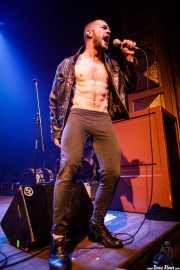 Kiryl Masheka, cantante y performer de Pussy Riot (Kafe Antzokia, Bilbao, 2019)