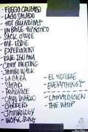 Setlist de Los Mambo Jambo (Kafe Antzokia, Bilbao, 2019)