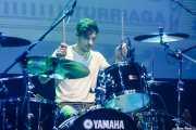 "David Rodríguez ""Deibol"", baterista de Unclose (Kafe Antzokia, Bilbao, 2019)"