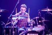 Ander Benito, baterista de Cecilia Payne (Kafe Antzokia, Bilbao, 2019)