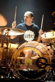 Galder Izagirre, baterista de Berri Txarrak (Kafe Antzokia, Bilbao, 2019)