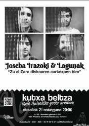 Cartel de Joseba Irazoki eta lagunak (Kafe Antzokia, Bilbao, )